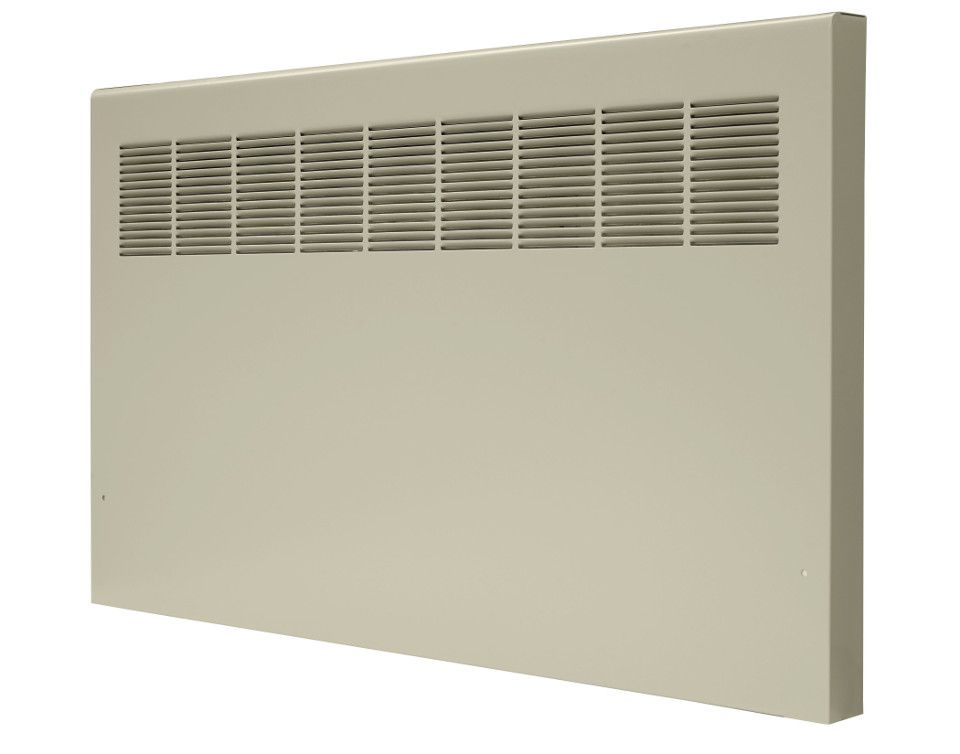 Front of a PW-A convector unit against a white background