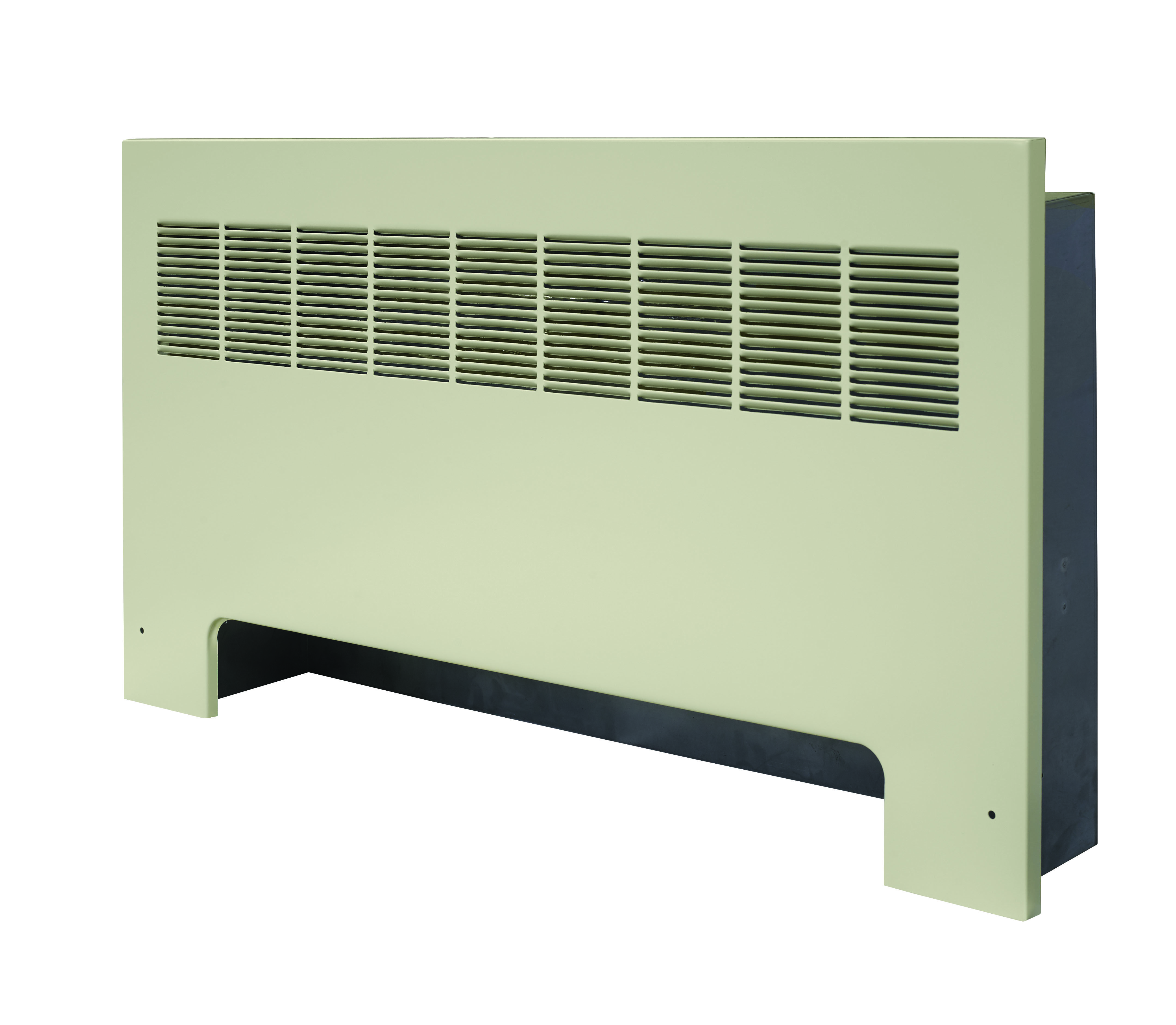 Front of a RF-A convector unit against a white background