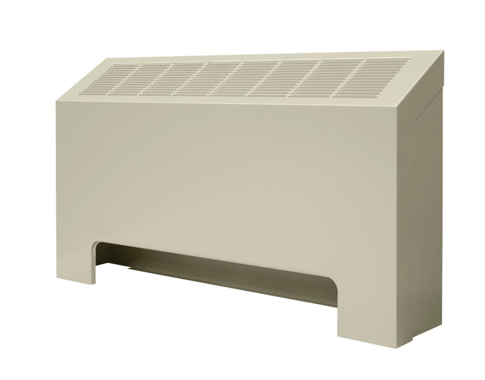 Front of a SF-A convector unit against a white background
