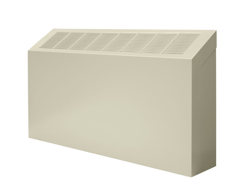Front of a SW-A convector unit against a white background